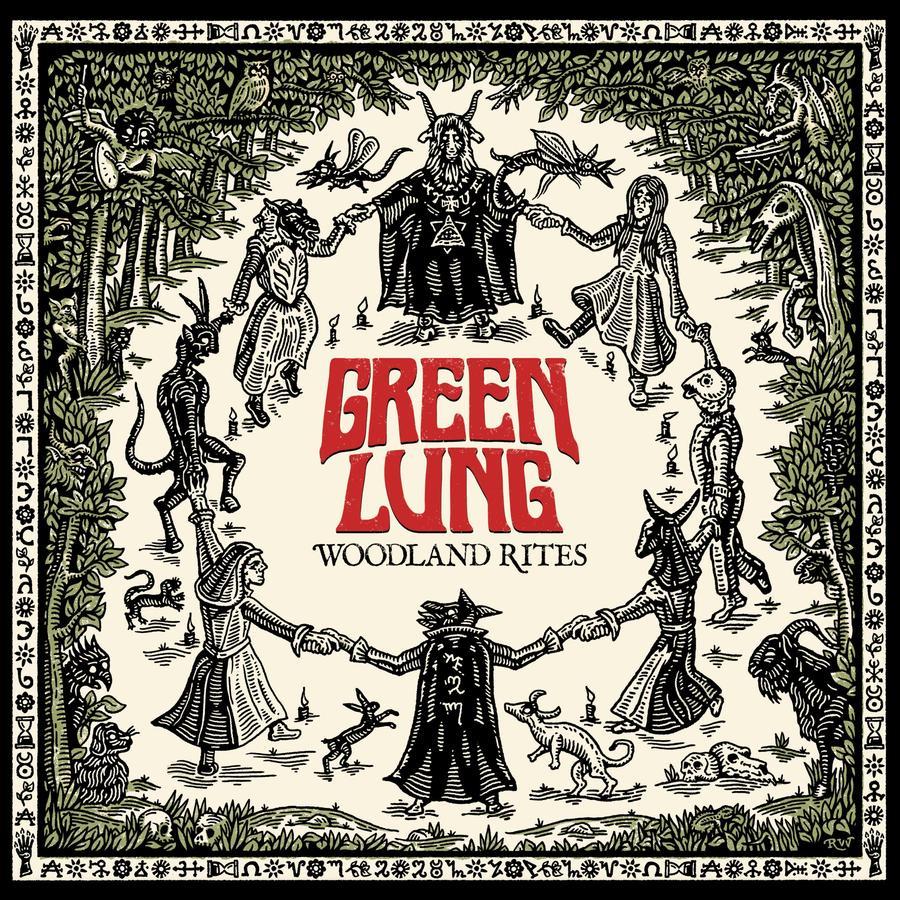 GREEN LUNG - WOODLAND RITES  LP/2CD DIGIPACK  (Svart Records)