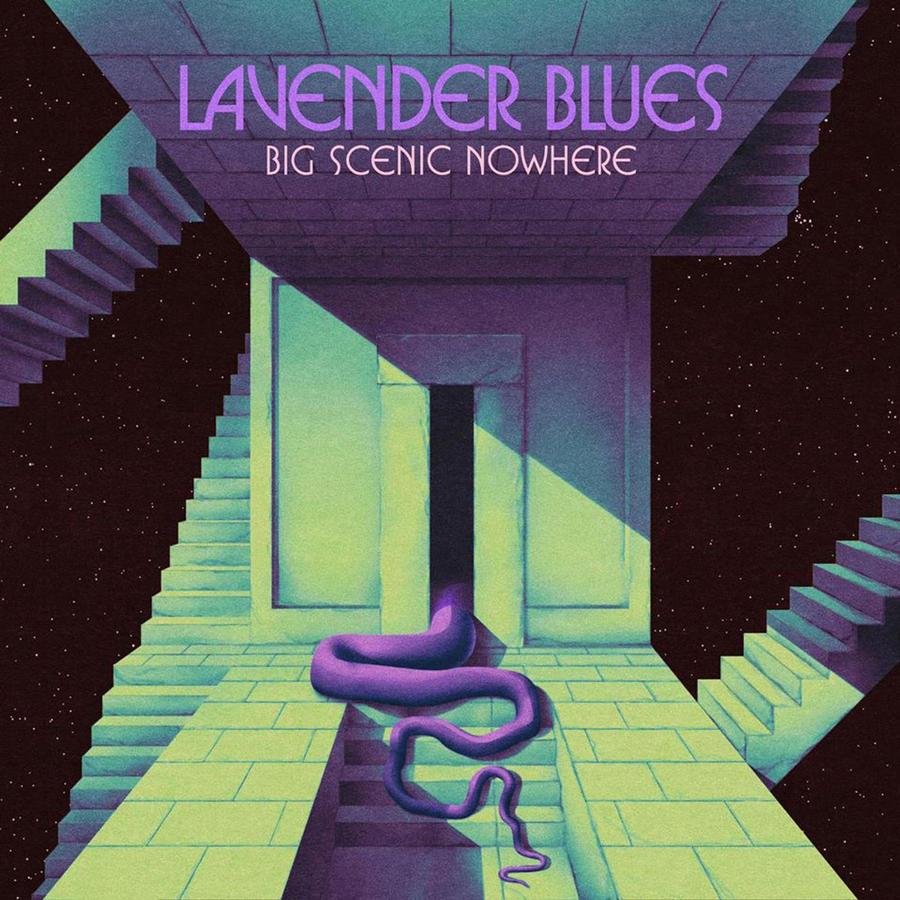 BIG SCENIC NOWHERE - LAVENDER BLUES               Lp limited Edition Green Vinyl/Traditional Black/Digipack