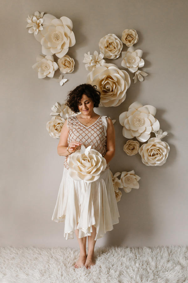 Paper Flowers Wall Collection - Set Nuvole