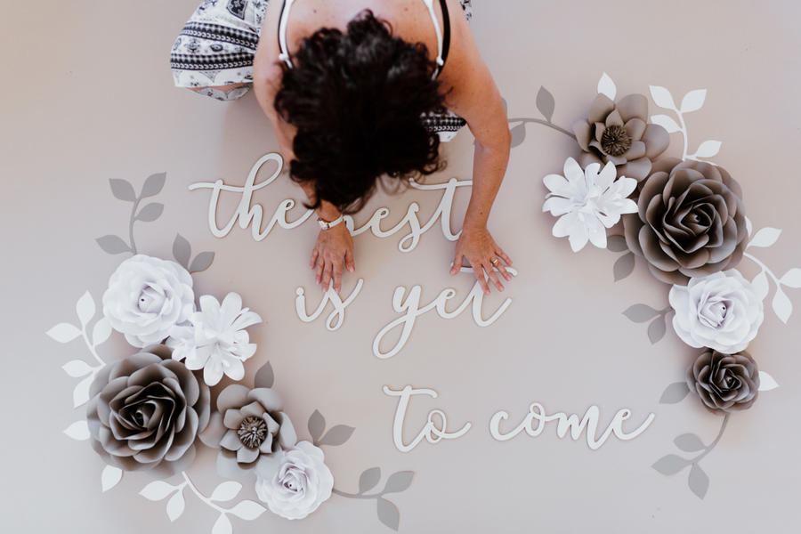 Paper Flowers Wall Collection - Set Speranza