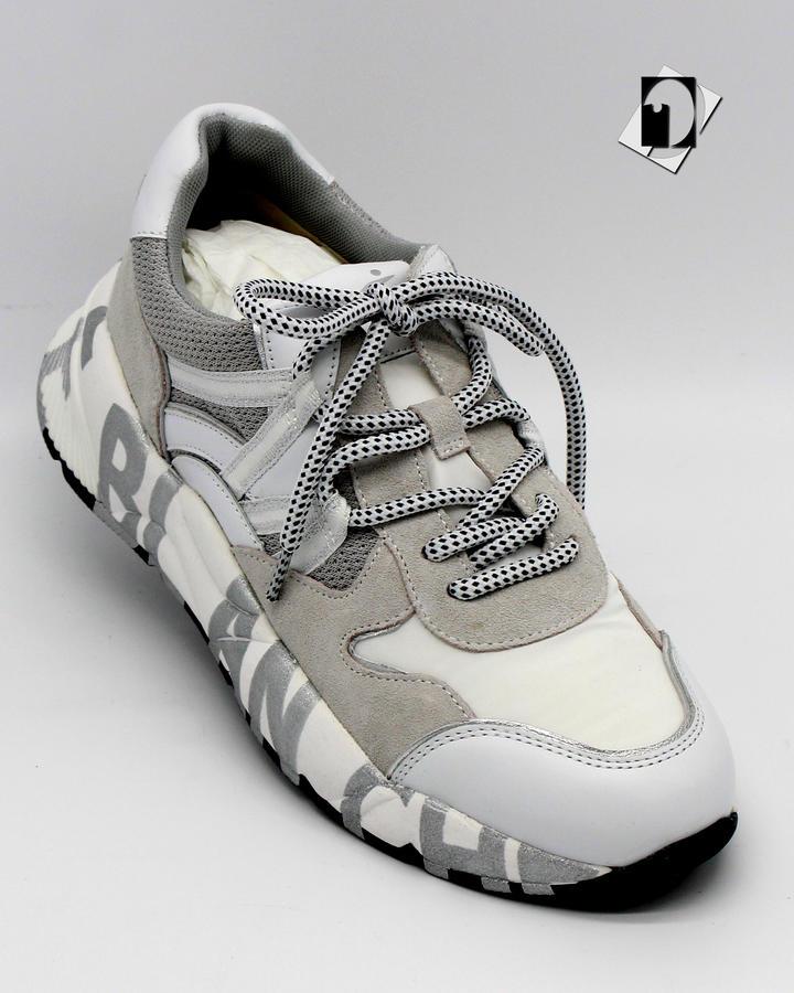 Voile Blanche CLUB100 Sneaker in cordura e vitello nero o bianco ***