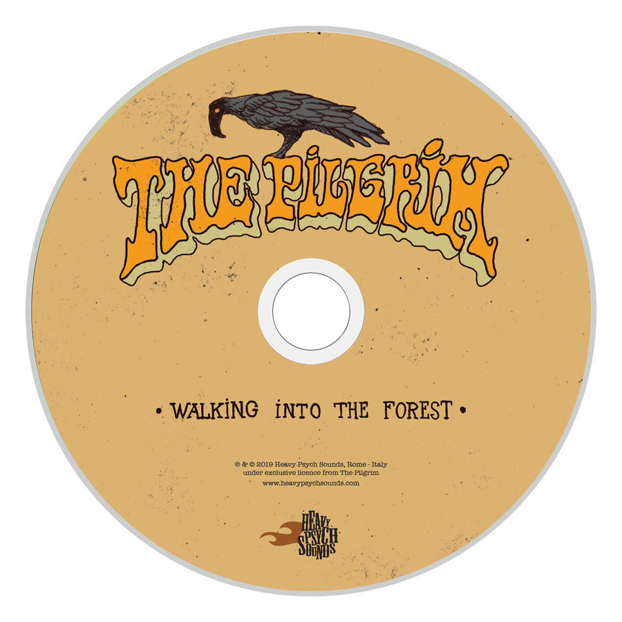 THE PILGRIM - WALKING INTO THE FOREST         LP(Colored Splatter White/Brown or Solid Blue Marine)/Digipack