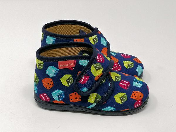 Pantofola Strappo Dadi - DIAMANTINO