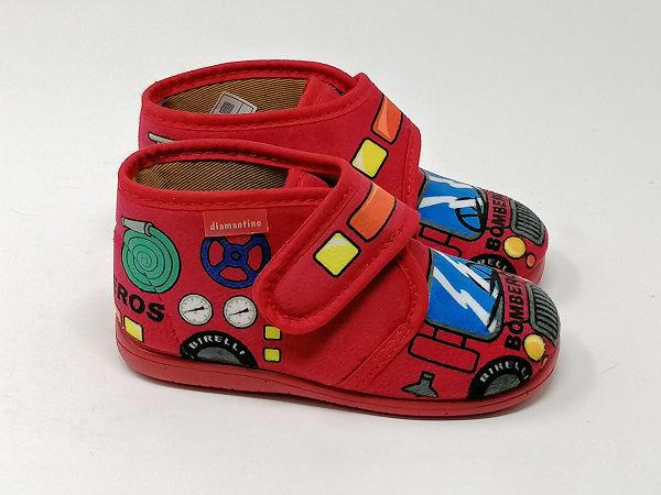 Pantofola Strappo Rosso - DIAMANTINO