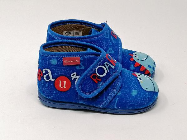 Pantofola Strappo Dinosauro - DIAMANTINO