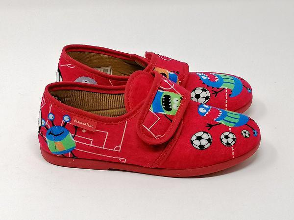 Pantofola Strappo Mostri  -  DIAMANTINO