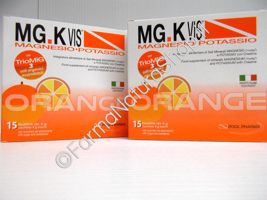 MG.K Vis Magnesio-Potassio con Creatina ►PROMO BIPACK 1+1◄