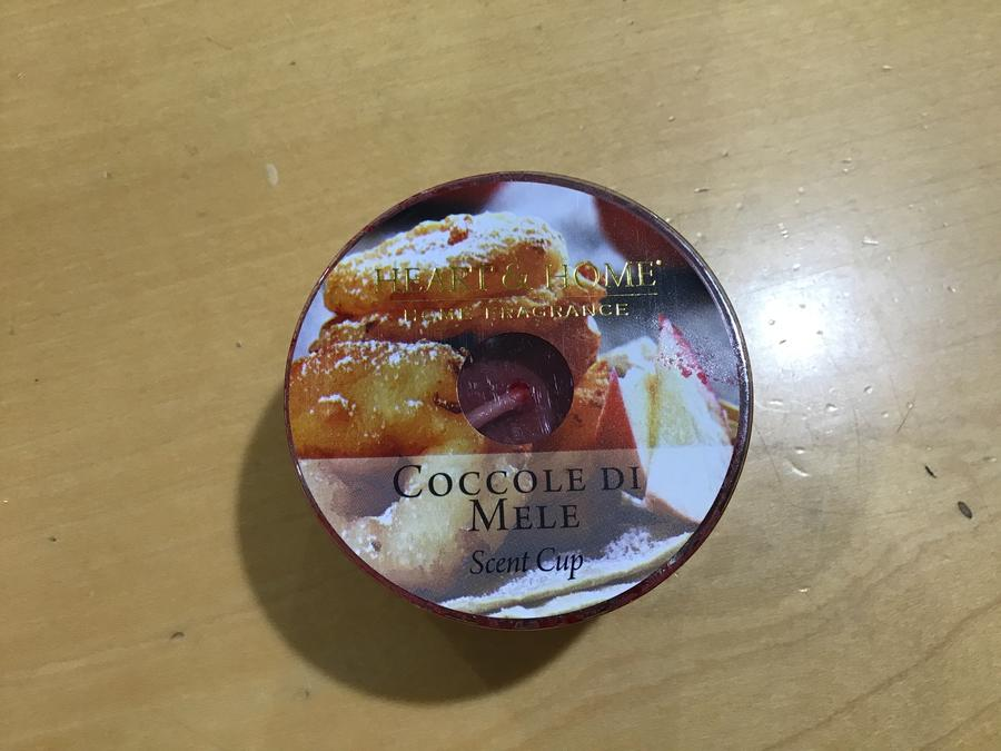 CANDELE IN SOIA SCENT CUP FORMATO 38 gr
