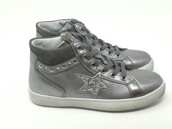 Sneaker Stella Lacci/Cerniera - NERO GIARDINI Kids & Teens