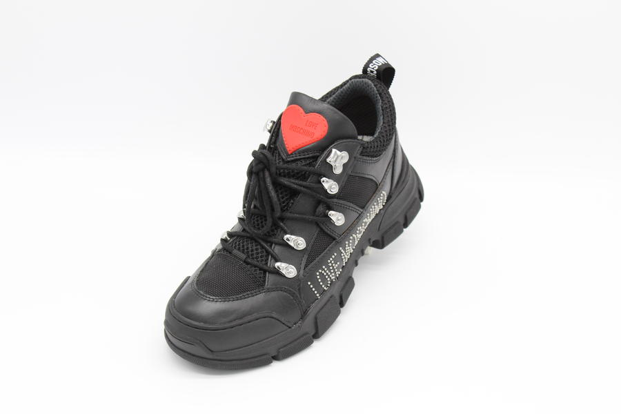 Love Moschino Sneakers argento o nere