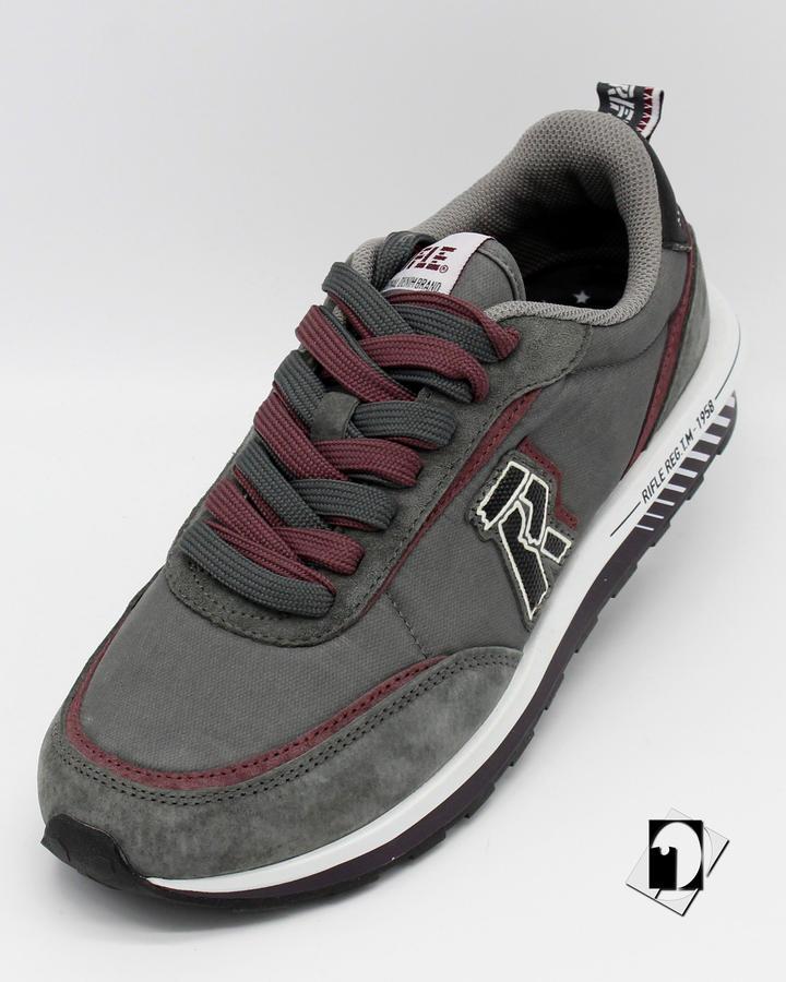 Rifle Oasis Vintage Sneakers Sharl / Wine oppure Truffle /Black