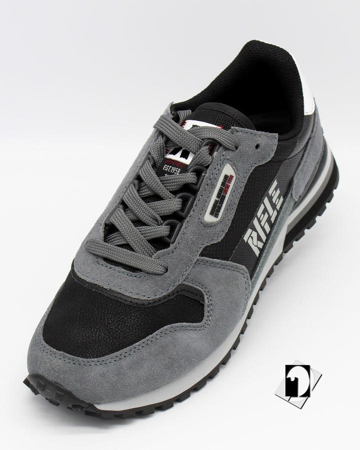 Rifle Lex Sneakers Brain / Black / White o Universe / Flag / Mysterious