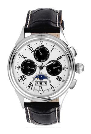 FlorioClub - Crono Targa - Orologio Cronografo analogico meccanico - nuovo