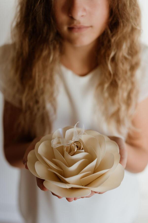 Fiore portafedi