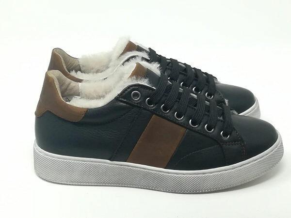Sneaker Pelle/Montone - TIKO