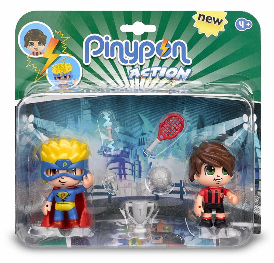 PINYPON BLISTER 2 PERSONAGGI