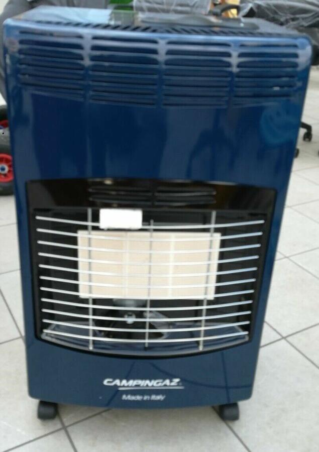 CAMPINGAZ stufa a gas infrarossi IR5000 - DISPONIBILE IN ANTRACITE O BORDEAUX.