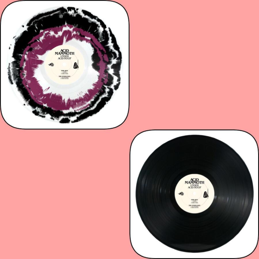 ACID MAMMOTH  - UNDER ACID HOOF  Reissue with 2 bonus tracks!