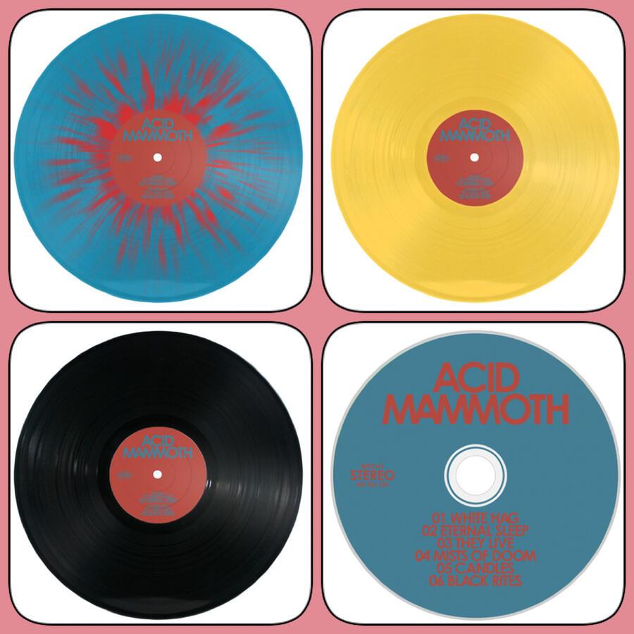 ACID MAMMOTH  - ACID MAMMOTH  LP Ultra Ltd/Ltd/Traditional Black/Digipack