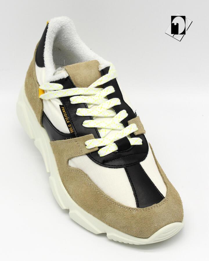 Sneakers Pantofola d'Oro 1886 Ala Low Velour/Ripstop in 3 varianti