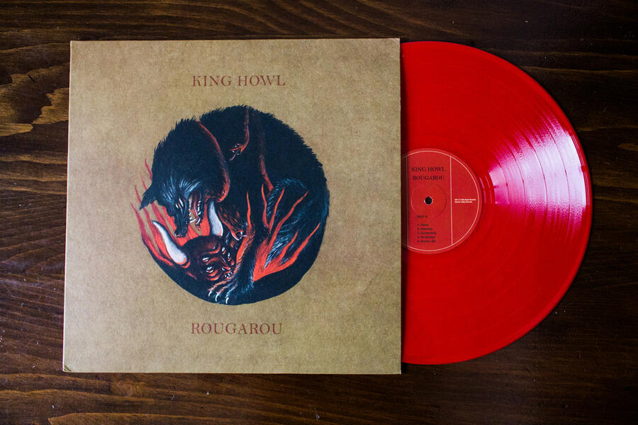 KING HOWL -    ROUGAROU  LP  (Colored Red / Traditional Black / Digipack)