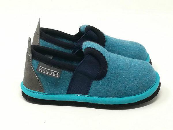Pantofola Lana Ossido di Rame - LÖWENWEISS