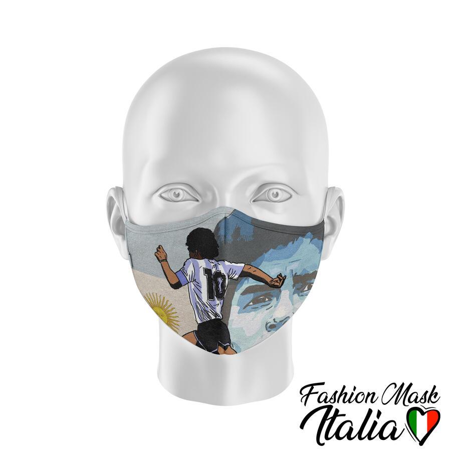 Fashion Mask Maradona10