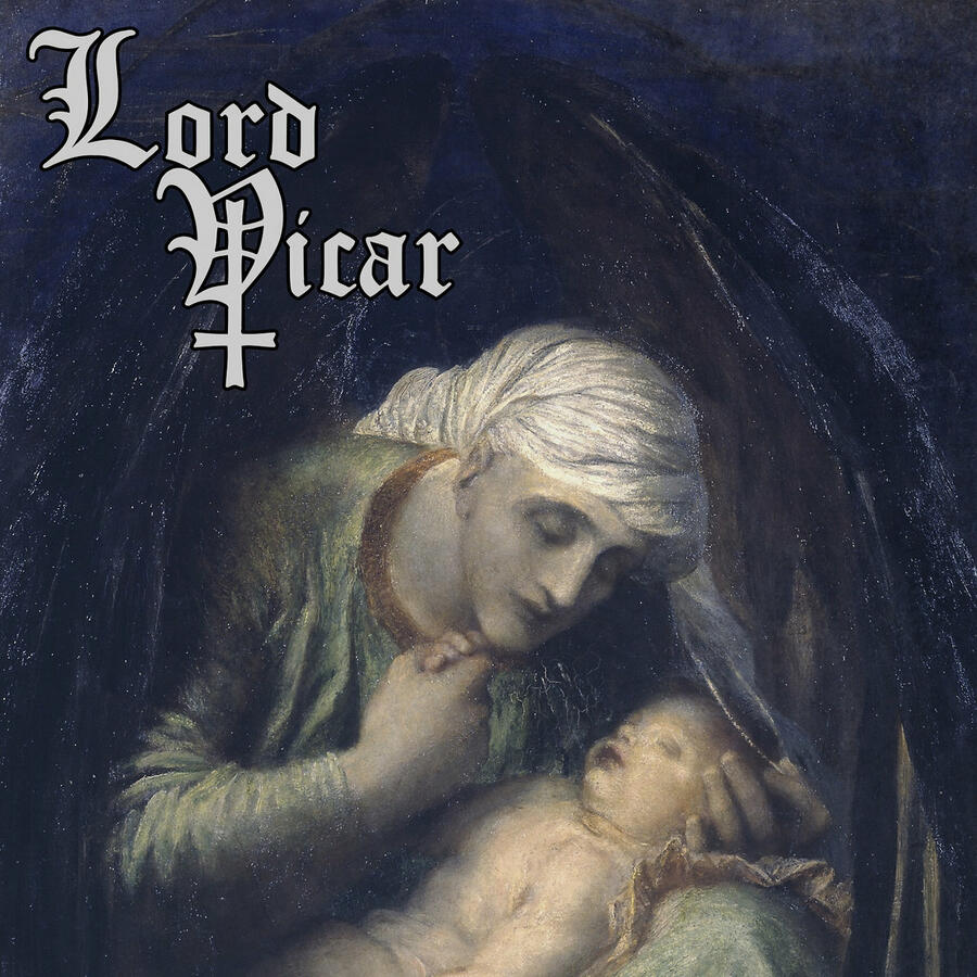 LORD VICAR  - THE BLACK POWDER  LP LIMITED EDITION CLEAR (400 Copies) /  BLACK