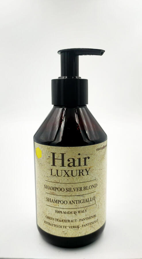HAIR LUXURY SHAMPOO ANTIGIALLO SILVER BLOND