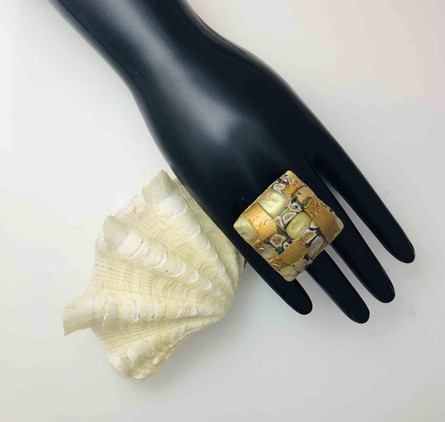 """Anello e ciondolo """"Collezione Klimt"""""""