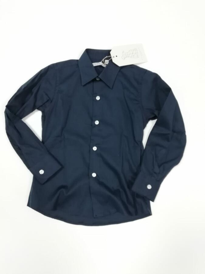 camicia blu ANACAPRI