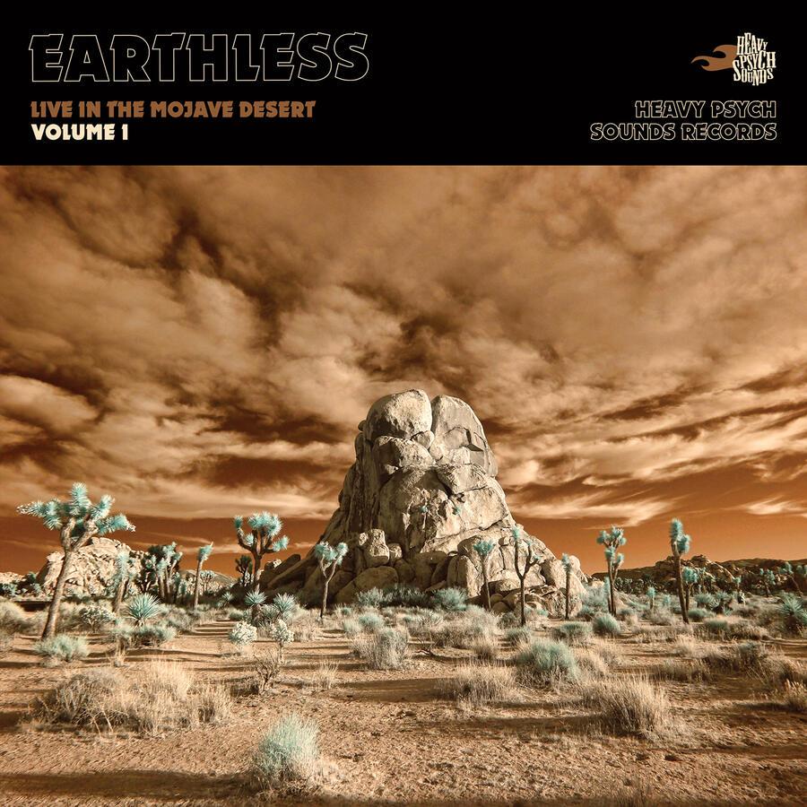 EARTHLESS    -LIVE IN THE MOJAVE DESERT  VOL.1  2LP / DIGIPACK