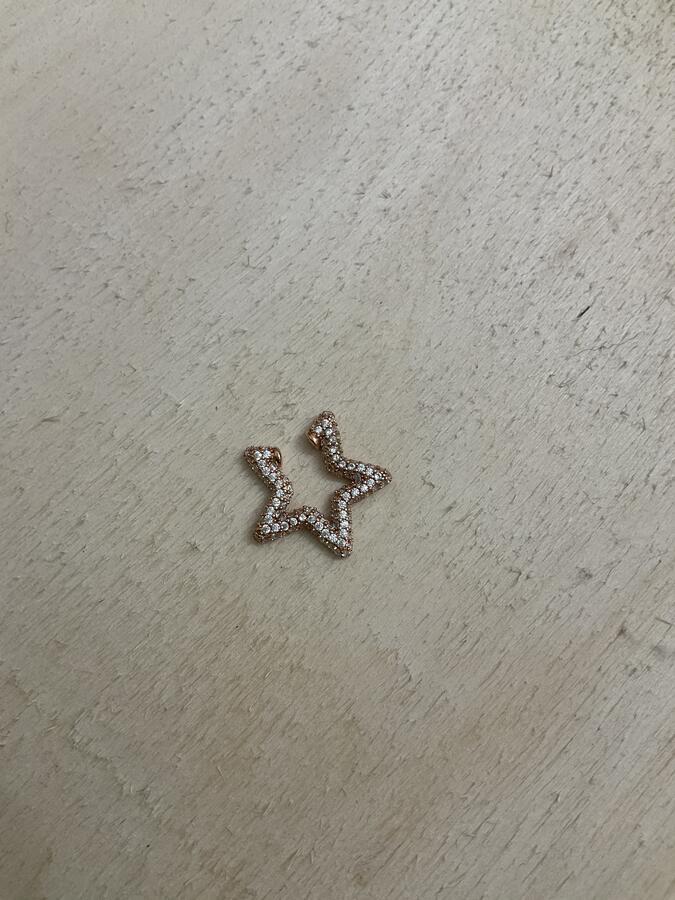 Earcuff stella zirconi