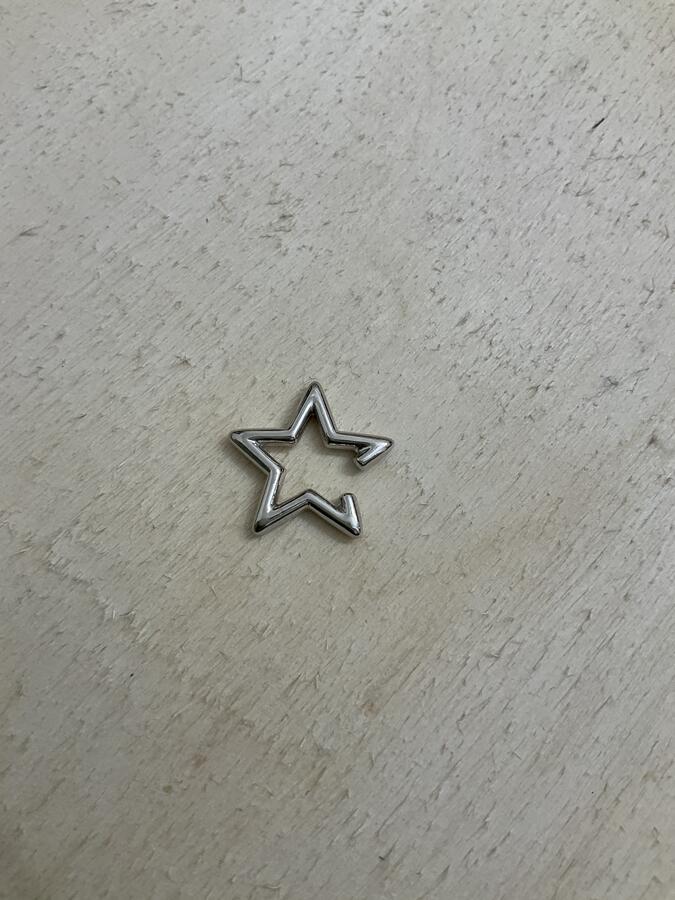 Earcuff stella liscia