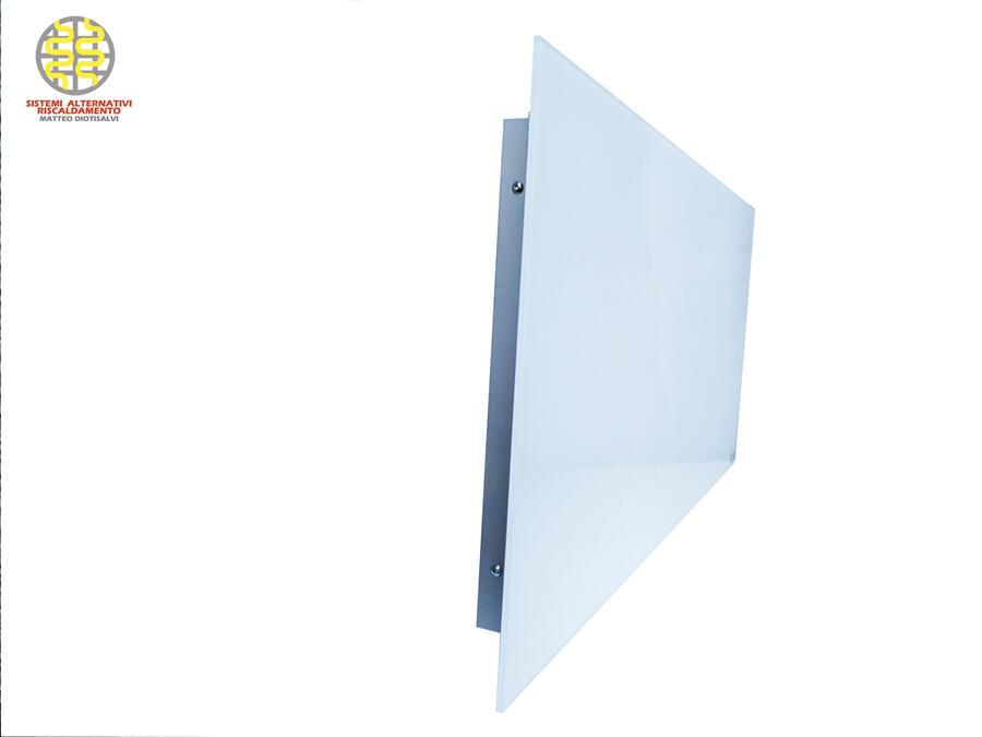 Pannelli radianti a parete in vetro temperato 1750x800x8 mm