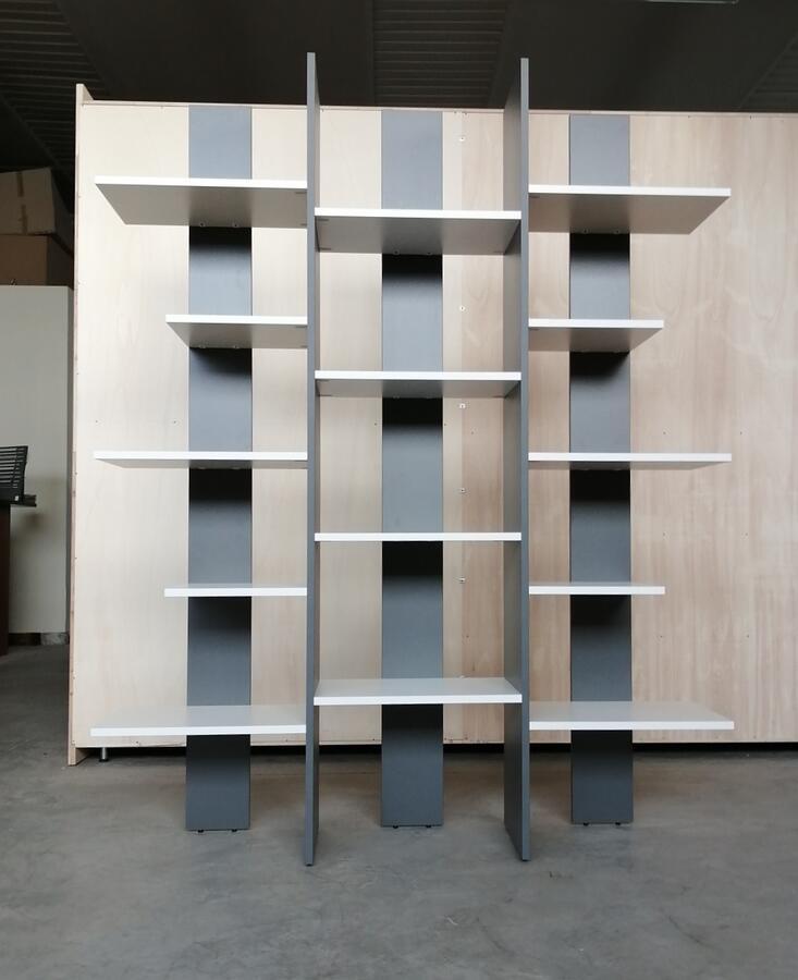 Art.405 - Libreria moderna bianca