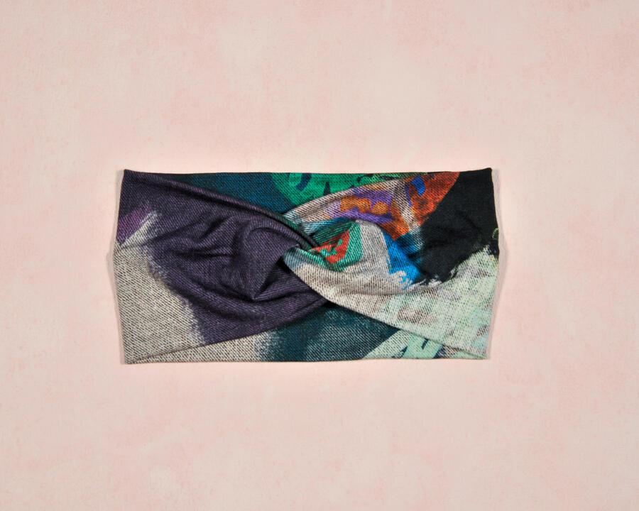 Fascia effetto Tie-Dye