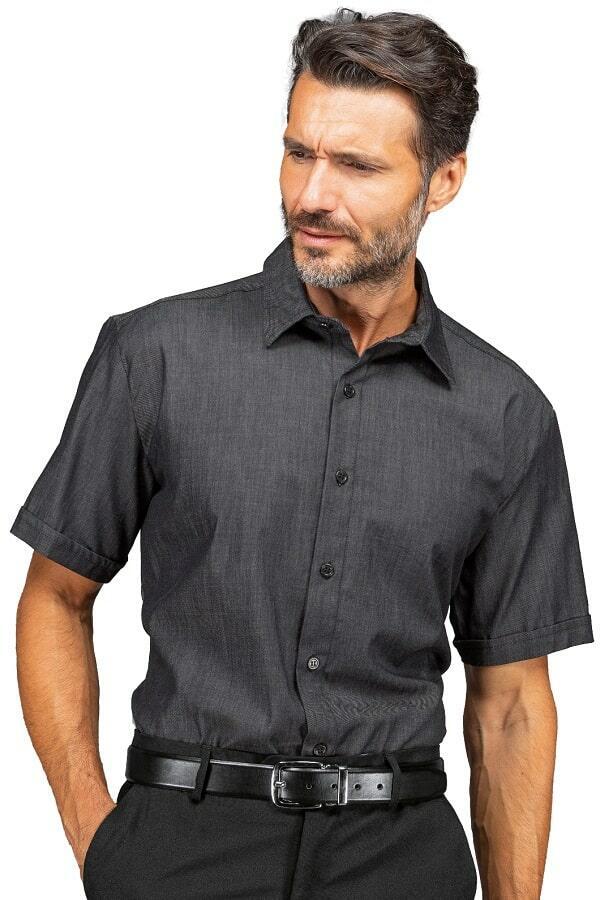Camicia Unisex Nevada Black Jeans stretch