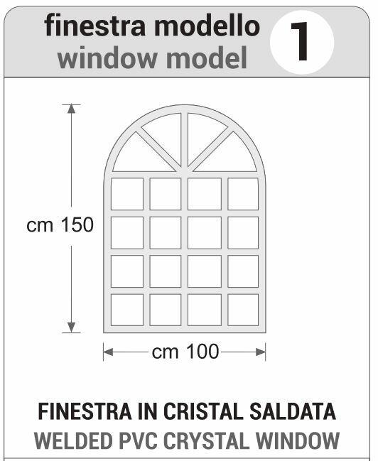 FINESTRA IN CRISTAL