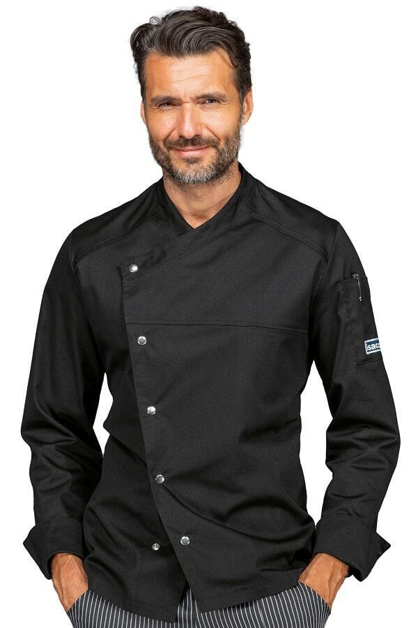 Giacca Cuoco Erickson polycotone Nera