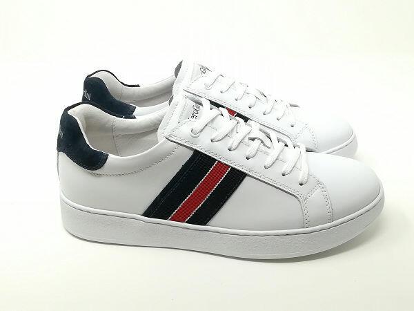 Sneaker Pelle Lacci - NeroGiardini