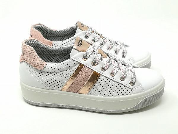Sneaker Ava Nappa Rosa - Igi&Co