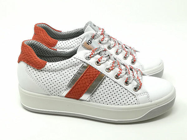 Sneaker Ava Nappa Rosso - Igi&Co