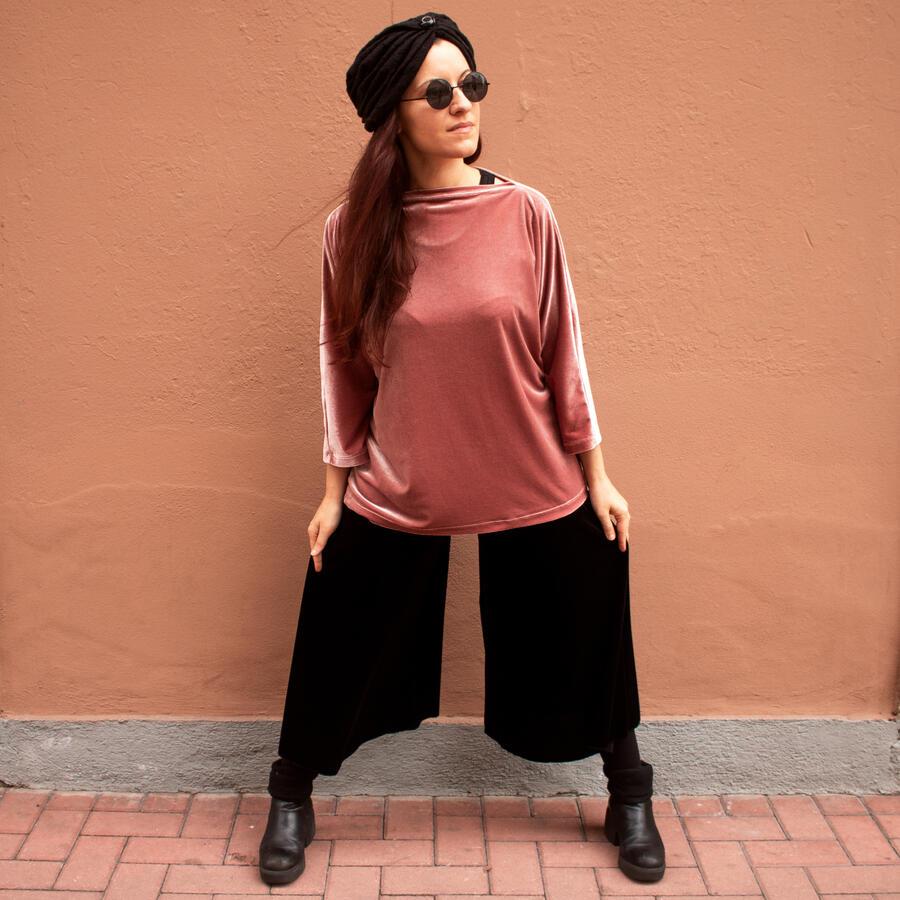 *SALE* Panta Gonna in velluto - Nicoletta Fasani