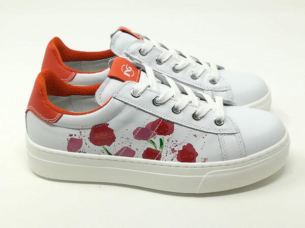 Sneaker Fiori - NERO GIARDINI Kids & Teens