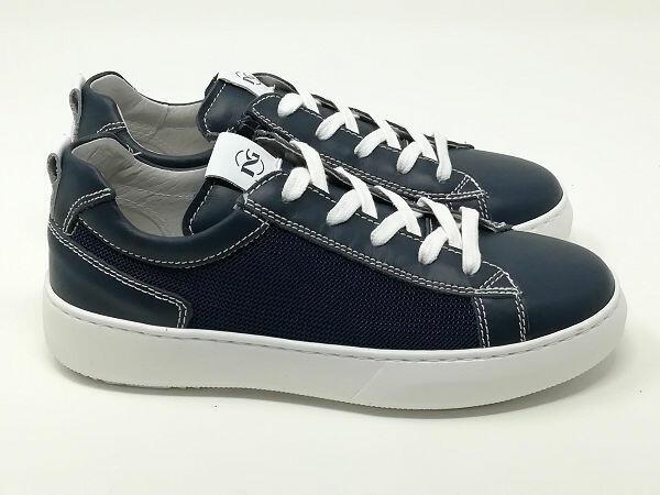 Sneaker Pelle/Tessuto - NERO GIARDINI Kids & Teens