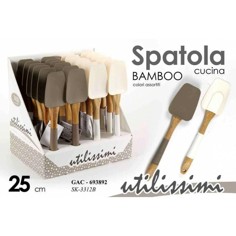 Accessori per dolci in silicone e bamboo