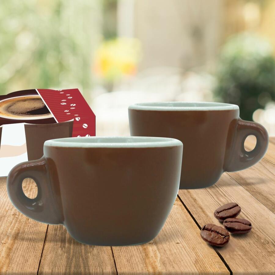 Tazzine caffè marrone