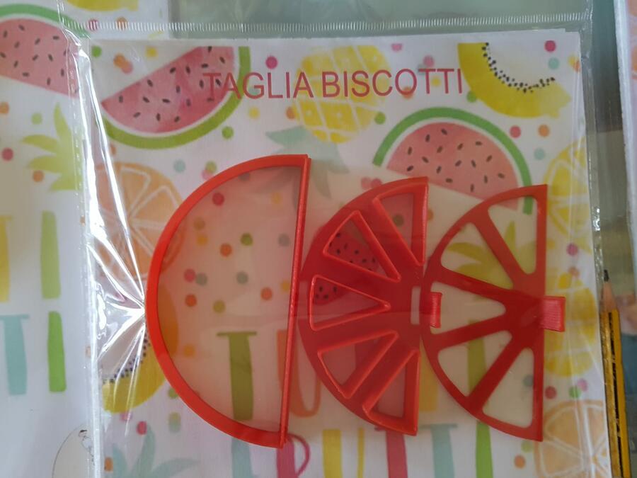 Tagliapasta biscotto ripieno mod.frutta