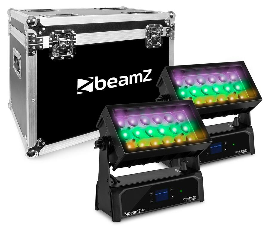 BeamZ -  STAR-COLOR 270Z WASH ZOOM 18X 15W 4-IN-1 IP65